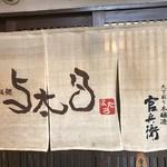 立呑み処 与太呂 - 暖簾