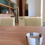 ソバ カフェ 渓水 - そば茶