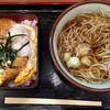 そば うどん 元長 - 料理写真:「かつ重セット」720円