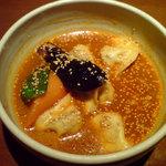 シャンティ - 私 モモと野菜のスープカリー(オリジナルスープ)980円