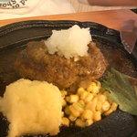 ステーキハウス カズ - 和風ハンバーグ¥850