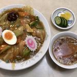 川ばた - 中華丼 ¥880
