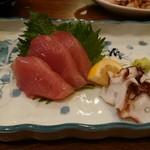 小料理木の花 - 島さかな(2切れ食べちゃった!)