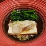 Feifontommiyazawa - 牡蠣と豆腐の蒸し物