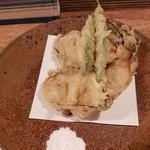 101804329 - 牡蠣の天ぷら