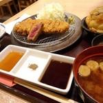 牛カツ専門店 京都勝牛 - 牛カツ。