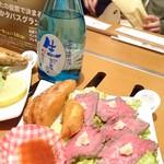 居酒屋らんぷ - のべおかタパス限定 ローストビーフ