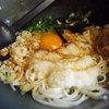 王道庵 - 料理写真:温ぶっかけ(玉子・山芋)