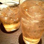 10181790 - ハイボール 367円 おばあちゃんの梅酒 367円 特にハイボールは大きくてGOOD!!