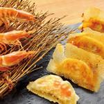 餃子屋本舗 - ぷりぷり天然海老のだし入り焼餃子