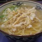 まことうどん - 料理写真:ごぼう天うどん
