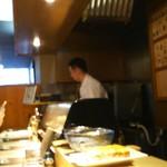 鮨割烹 廉 - カウンター
