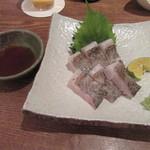 101819909 - 「太刀魚の炙り刺し」