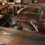 平尾台蕎麦処 えん - ココが隠れ家の囲炉裏部屋