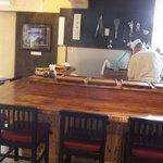 平尾台蕎麦処 えん - 憧れのカウンター席