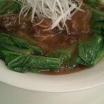 広東料理処お好み焼き 千代 - 牛肉の煮込み