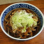 田上 - 掻き揚げ蕎麦 410円