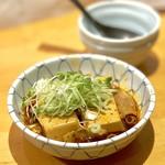 あじとよ屋 - スタミナ肉豆腐(550円)