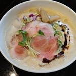 麺飯食堂 三羽鴉 - マー油(ご自由に入れて頂き味変をお楽しみください)