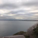 魚見亭 - 窓からの眺め(相模湾)