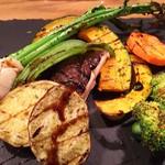 マイアーレ - 野菜のグリル盛り合わせ
