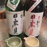 山食堂 - 本日の2種飲み比べ980円