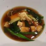 101827957 - 豆腐大好きなので。。。                       たぬき豆腐(*´艸`*)