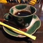 四季のお料理 きくや - 雪どり(1500円)・コーヒー 食後にピッタリの濃さ&苦み(^0^) 2019/01/05