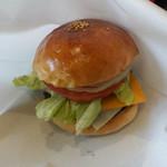 ファブ リックス - 料理写真:チーズ&チーズバーガー