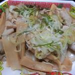 肉のわたなべ - チャーシューメンマ(開封後)