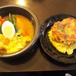 kanakoのスープカレー屋さん - Kanako'sチキングリルonライス