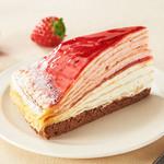 【期間限定】苺とマスカルポーネのミルクレープ