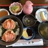 レストラン浜中  - 料理写真:香箱蟹の能登丼