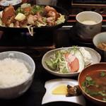 三瀬谷 大黒屋 - 料理写真:鳥の味噌バター焼き1400円