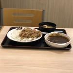 松屋 - カレギュー(並)