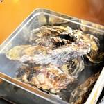 塊肉ステーキと牡蠣 アホヤネン 岡崎BBQガーデン - 料理写真: