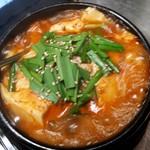 自家製コチュジャンの純豆腐チゲ