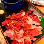 101839973 - 馬肉の燻製「さいぼし(580円)」