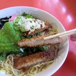 純中華料理 中央亭 - カツは美味いけど…