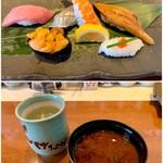 回転寿司しげなが - 料理写真:ランチ・きわみ 1500円