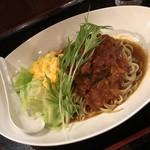101841311 - 鹿バラ肉岩石トマト煮スパイスカレー和え麺 1200円