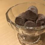 焼肉よだれ牛 - 料理写真:濃い生チョコアイス