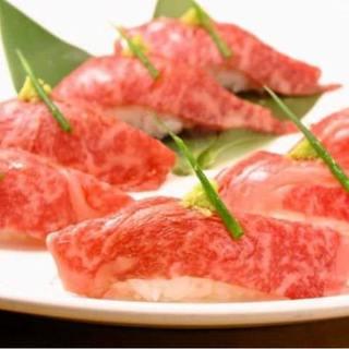食べ放題が人気♪肉寿司など10種類以上食べ放題+2H飲み放題