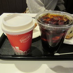 シナボン/シアトルズベストコーヒー - チャイラテ(S)390円 & ドリップコーヒー(S)300円