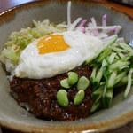 辺銀食堂 - ジャージャン丼アップ
