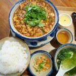 辺銀食堂 - 石ラー麻婆島豆腐:1,000円