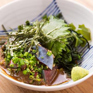 福岡近海で獲れる新鮮な魚介類の旨味と鮮度をそのままご提供!