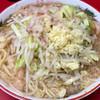 ラーメン二郎 - 料理写真:小ブタ 830円 (ニンニク・ヤサイ・アブラ)