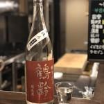 國酒と料理 墨流し - 鶴齢(特別純米)