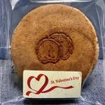 白松がモナカ本舗 - 料理写真:一袋づつ、バレンタインのシールが貼ってありました(*'-')b OK!